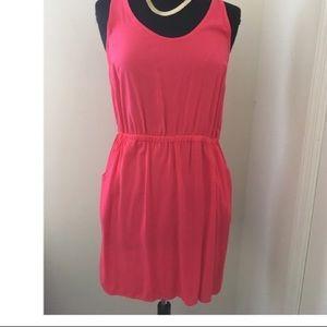 Hot pink summer dress
